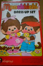 Monchichi  Colorforms Playset Vintage 80's Awesome - $21.88