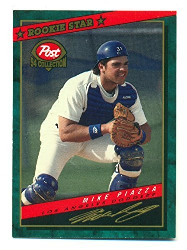 Lot of 5 Post 1994 Collection Mike Piazza Rookie Star #1 - Los Angeles Dodgers -