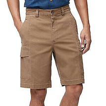 NWT Tommy Bahama Relax Tencel Cotton Beige Cargo Shorts - Size 40 - $24.74