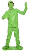 Saving Private Morph Kids Green Soldier Costume Size Medium Youth - $27.04