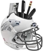 Nevada Wolf Pack White w/ Silver Wolf NCAA Football Schutt Mini Helmet Desk Cadd - $21.95