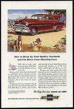 Chevrolet Styleline DeLuxe 2D Sedan 1952 Miller Art AD - $10.99