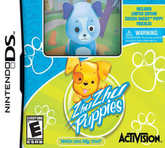 Zhu Zhu Puppies ds with Exclusive Freckles Zhu Zhu Puppy Toy NDS New Nintendo DS - $8.82