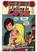 FALLING IN LOVE #135 1972-DC COMIC-Black ROMANCE CVR - $40.35