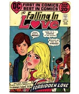 FALLING IN LOVE #135 1972-DC COMIC-Black ROMANCE CVR - $40.35