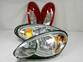 HEADLIGHTS & TAIL LIGHTS 2006-2010 Chrysler PT CRUISER With NEW BULBS fo... - $170.78