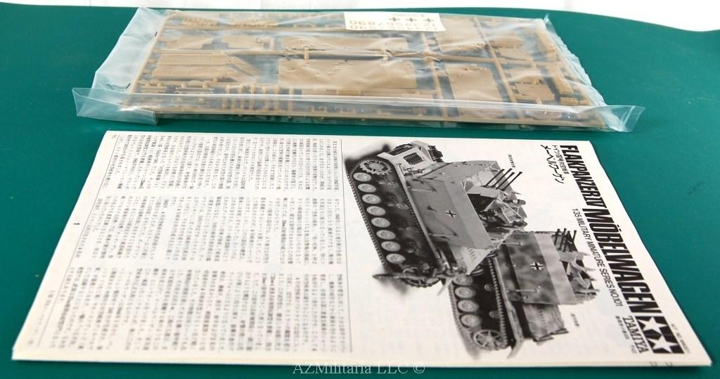 1/35 German Flakpanzer IV Mobelwagen Kit No MM201 Series No. 101