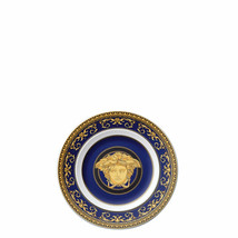 "Versace by Rosenthal Ikarus Medusa blue Plate 18 cm/7"" inches  Set of 12 - $787.60"