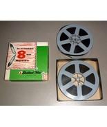 """D.W. Griffith Battle at Elderbush Gulch 8mm Blackhawk Films (2) Two 5"""" R... - $15.75"""