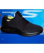 Skechers Go Run Mojo Mania Black Navy Men's  Slip Comfort Shoes Sneakers... - $75.19