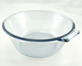 Pyrex Flameware F-Y832-B Aqua Blue Handle Tab 1 Qt Saucepan Bowl ~ Made ... - $16.95