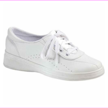 Grasshoppers Women's Avery Fashion Sneaker , White, 6 Extra Wide - $21.36