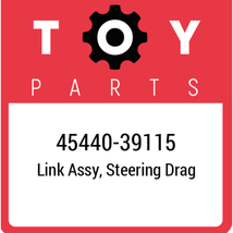 45440-39115 Toyota Steering Drag Link, New Genuine OEM Part - $133.15