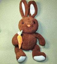 "25"" Animal Adventure BROWN BUNNY Rabbit EASTER Plush Stuffed Animal Gree... - $37.39"