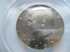1980-P , Kennedy Half Dollar , MS 67 , ANACS Certified - $124.91