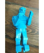 Mattel Rock Em Sock Em Robots Blue Bomber Robot Replacement  - $9.85