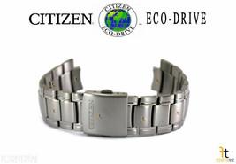 Citizen Eco-Drive E111M-S078369 Tono Plata Titanio Banda Reloj B612M-S07... - $197.58