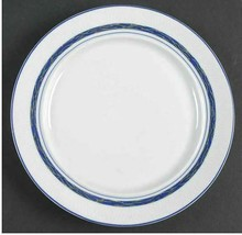 Bread & Butter Plate New Scandia by DANSK Portugal Lattice Blue Band Red Berry  - $11.29