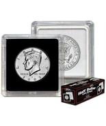 20 BCW 2X2 COIN SNAP - HALF DOLLAR - BLACK for Premium Long-term Storage... - $11.72