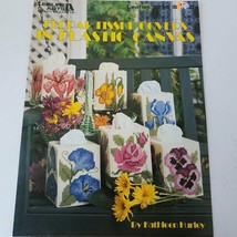 Leisure Arts Craft Leaflets #1214 Floral Tissue Covers - $8.24