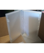 10 NEW CLEAR VHS VIDEO LIBRARY CASE W/FULL SLEEVE PSV14 - $9.00
