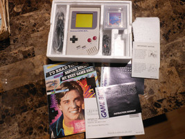 Nintendo Game Boy Original DMG-01 Vintage 1989 Japan WITH ORIGINAL BOX &... - $425.00
