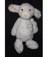 """Jellycat Bashful Lamb Sheep Plush Stuffed Animal Off White Ivory 11"""" - $14.83"""