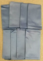 Ambrosia Wedgewood Blue NO IRON Dinner Napkins Set of 8 NEW No Package - $21.99