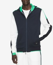 Calvin Klein Men's Colorblocked Full-Zip Hoodie, Size XXL, MSRP $128 - $64.34