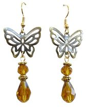 Butterfly earrings  #FE00012 - $17.00
