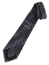 "New KENNETH COLE REACTION Silk TIE Purple, Grey Designer 59"" - $13.95"