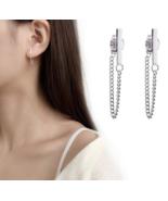 100% 925 Sterling Silver Stud Earrings For Women Girls Party Gift Pendie... - $12.99