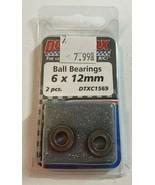 DURATRAX Ball Bearings 6 x 12mm 2 pcs. DTXC1569 RC Part - $3.49