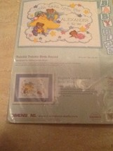 Cross Stitch Kit Dimensions Twinkle, Twinkle Little Star Baby Birth Reco... - $20.78