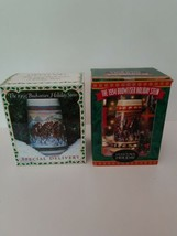 2 Budweiser Holiday Steins 1993 + 1994 Collectibles in Box - $38.69