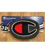Champion Waist Bag grey Shoulder Fanny Pack C Prime Logo Dark waist/slin... - $28.04