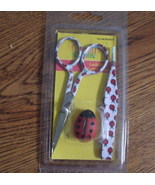 Ladybug Embroidery Scissors Set - $20.00