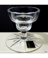 "Oneida Crystal Candle Stick Holder 3-1/8"" Clear Cut Foot - $14.11"