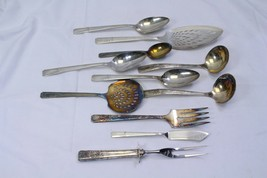 Prestige Grenoble Serving Pieces Lot of 11 Lot A  Pie Server Knife Spoon... - $58.79