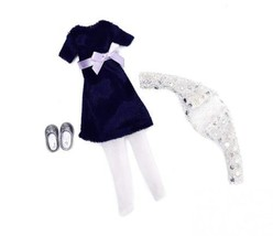 Doll Outfit by LOTTIE LT044 Blue Velvet Clothing Set | Dolls - Clothes -... - $21.35