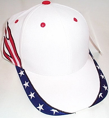 Primary image for MagicMens NWT Magic Headwear Red White Blue Adult Ball Cap