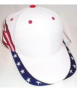 MagicMens NWT Magic Headwear Red White Blue Adult Ball Cap  - $5.95