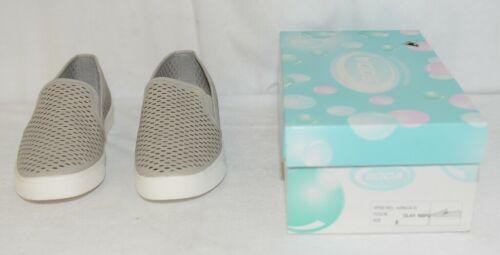 Soda ALPACA G Comfy Slip on Rubber Soled Flat Sneakers Size 9 Clay