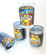 Pac-Man Glass Tumblers by Libbey Pacman Glassware Video Arcade Arbys - $39.95