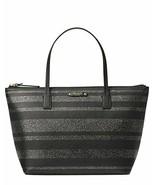 Kate Spade Hani Haven Lane Black Glitter Strap Tote Bag WKRU4787 - $76.22