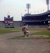 MLB Stan the Man Musial Polo Grounds On Deck Circle 5 X 7 Color Photo Pi... - $5.99