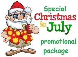 CHRISTMAS IN JULY PROMO PACKAGE SPECIAL  - $10.00