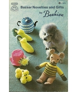 Bazaar Novelties and Gifts Pattern Booklet 115 Patons Beehive - $9.98