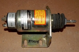 SYNCHRO START SWITCH 2001 SOLENOID SA-2774-A FUEL SHUTDOWN FOR Cat & MOR... - $68.99