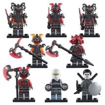 8pcs/set Ninjago The Vermillion Attack General Machia Rivett Vermin Minifigures - $15.99